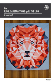 The Jungle abstractions quilt the Lion - kit