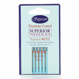 Superior Topstitch Needles 80/12