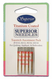 Superior Topstitch Needles assortment pack