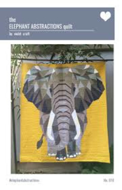 The elephant abstractions quilt - Muster
