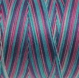 Aurifil Mako 28 - kleur 4647 - gemêleerd