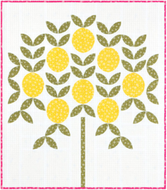 Violet Craft - The Citrus Grove quilt pattern