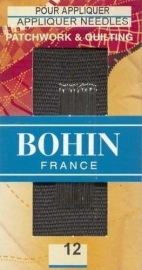 Bohin Appliqué  needles  - Size 12