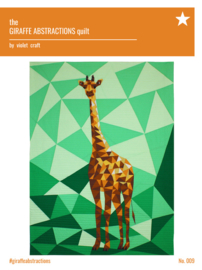 The Giraffe abstractions quilt - Kit
