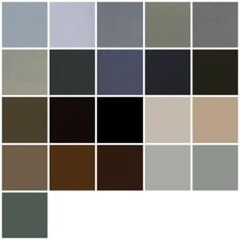 Farbmuster  Grau, Taupe und Schwarz