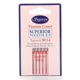 Superior Topstitch Needles 90/14