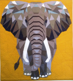 Original Michael Miller Elephant FABRIC kit