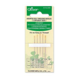 Clover Self Threading needles