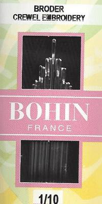 Bohin Embroidery needles - Size 1/10