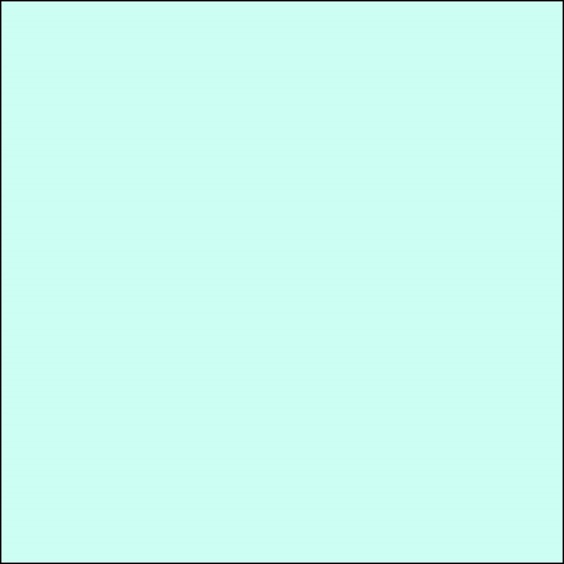 AMB 100 Light Turquoise - kleurstaal