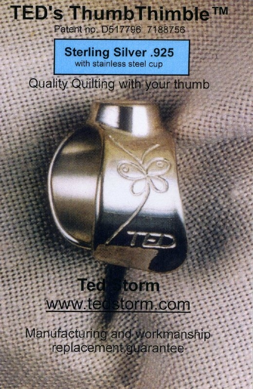 TED's duimvingerhoed Sterling Silver .925 with stainless steel cup
