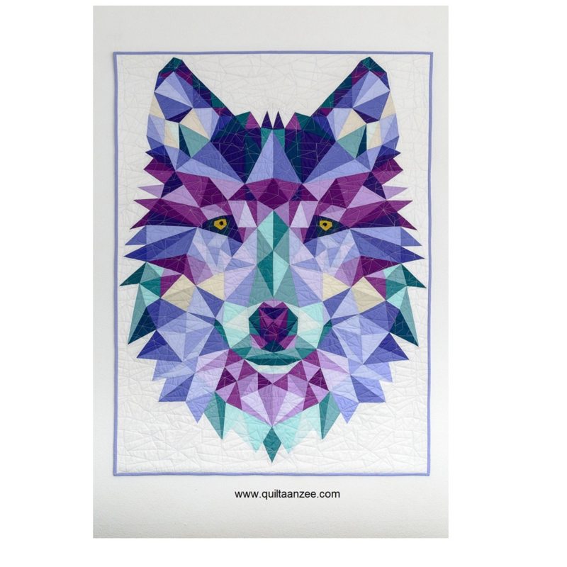 JACK the Wolf - pattern and fabric