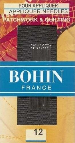Bohin Appliqué  needles  - Size 12