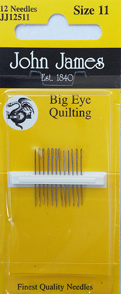 Big Eye Quilting - Size 11