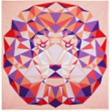 Violet Craftpakket Tropical Lion