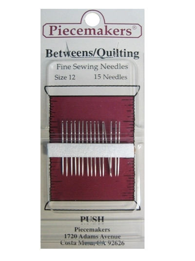 Piecemakers Betweens - Quilting Size 12