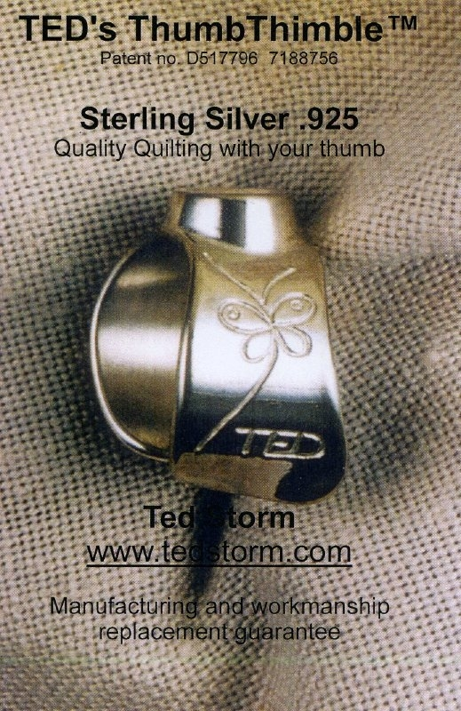 TED's duimvingerhoed Sterling Silver .925