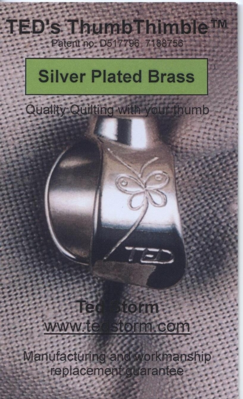 TED's Duimvingerhoed - Silver Plated Brass