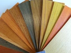 Transparante kleuren (terpentine basis)