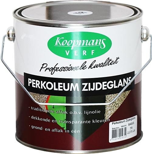Perkoleum zijdeglans Transparant 2,5 L