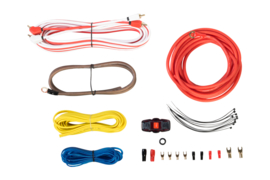 Versterker kabelset - 3,3mm. (8AWG)
