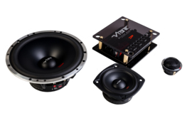 CVEN 16,5 cm.  3 way composet autospeakers