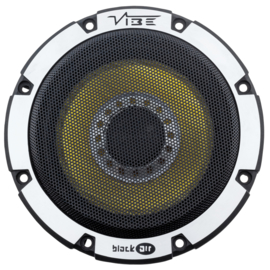 Vibe BlackAir 13 cm.  2 way composet autospeakers