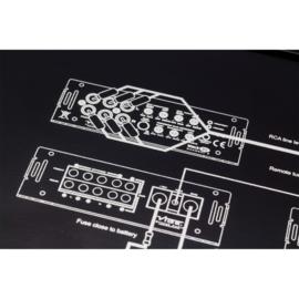 Vibe BlackAir 5 kanaals 4x90-300/515watt versterker