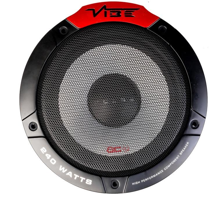 Vibe Pulse 16,5 cm.  2 way composet autospeakers