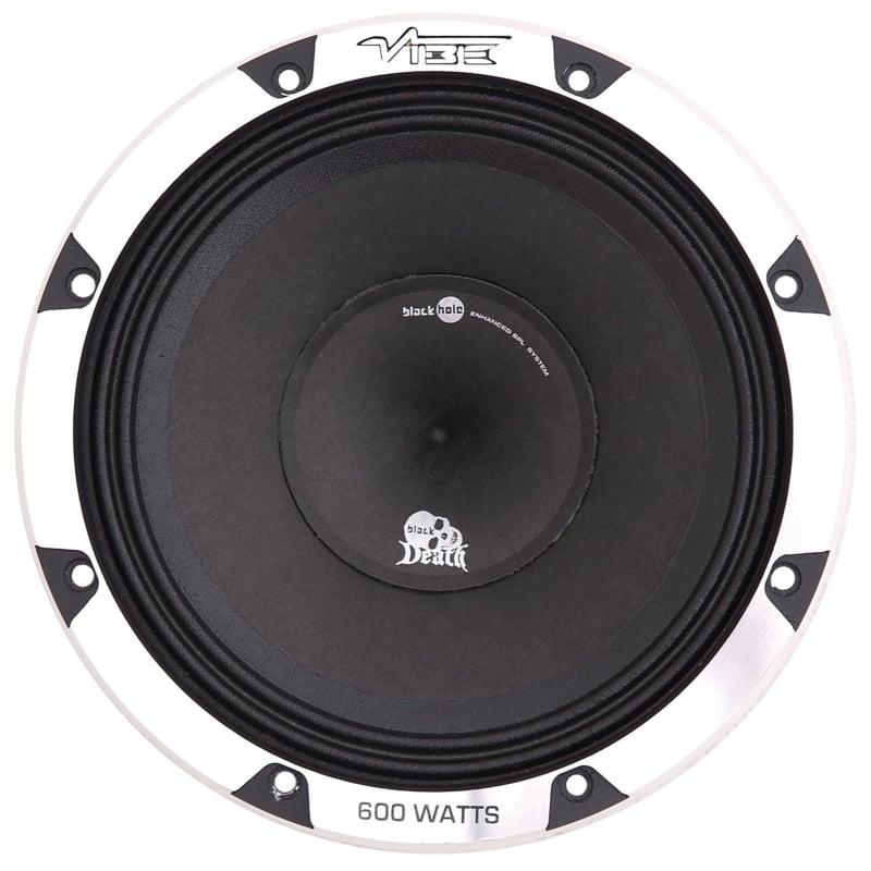 Vibe BlackDeath 20 cm.  1 way coaxiaal autospeaker