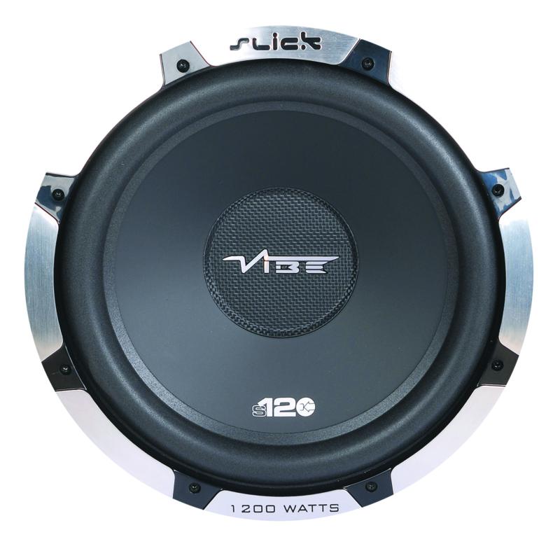 Vibe Slick 30 cm  - 400/1400 watt subwoofer