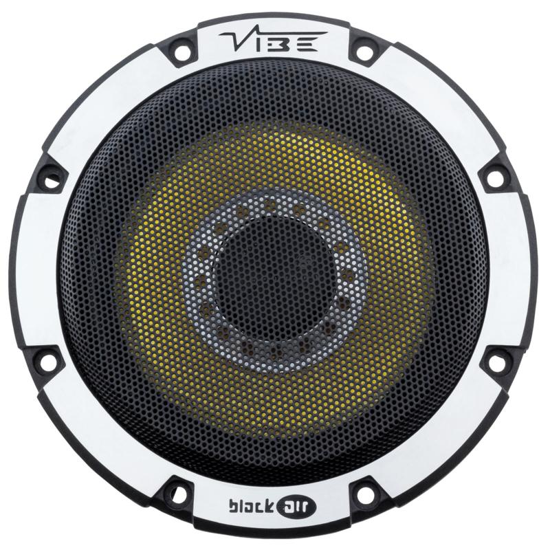 Vibe BlackAir 13 cm.  2 way composet autospeakers