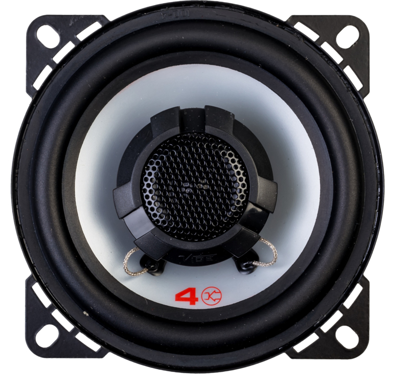 Vibe Pulse 10 cm.  2 way coaxiaal autospeakers