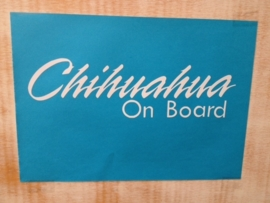 chihuahua on board