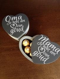 oma je hebt een hart van goud 13 cm