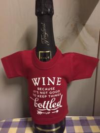 wine bottled