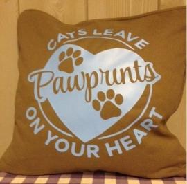 pawprints cat