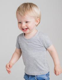 Baby-Kids` Crew Neck T-Shirt LW020 onbedrukt