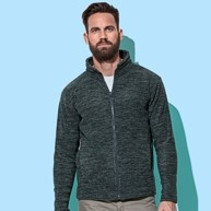 ST5060 Stedman Active Melange Fleece Jacket Men