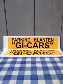 reclame waarschuwings stickers