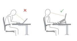 toetsenbord + muis + laptopverhoger