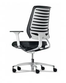Dauphin X-Code XC 53105 pure style bureaustoel, hoge rugleuning