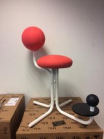 Globe Two, bureau- en werkstoel (Rood)