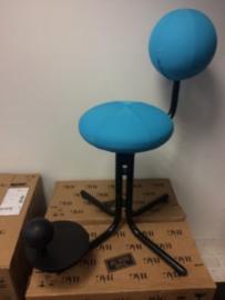 Globe Two, bureau- en werkstoel (blauw)