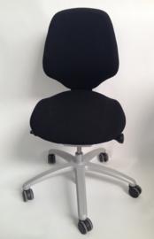 RH Mereo 200 bureaustoel, Medium rugleuning (Zwart)