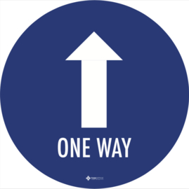 COVID One Way (10 stuks)