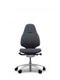 RH Mereo 220 bureaustoel, hoge rugleuning - Zwart