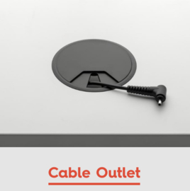 Kabel doorvoorpot / Cable Outlet