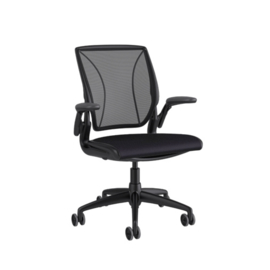 Humanscale Diffrient World Chair bureaustoel, medium rugleuning