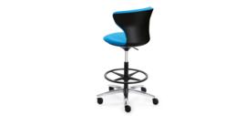 Sedus Turn around high desk chair, zwart